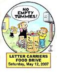NALC Branch 5 Food Drive 2007